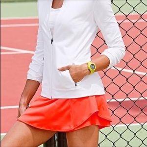 Athleta Bustle Skort Skirt in Ember Orange